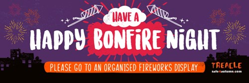 Have a happy bonfire night - Please go to an organised fireworks display