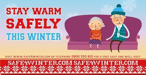 Stay warm safely this winter